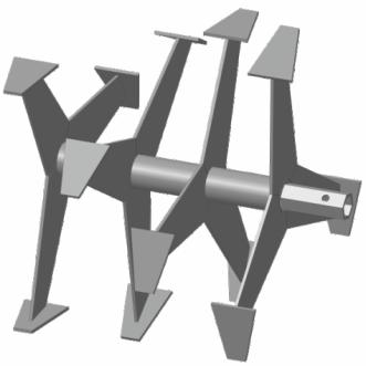 Фреза-культиватор S-24 Форза, Кроссер, Вейма, Хопер, 6-гранная картинка 1