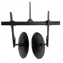 окучник дисковый НЦ.регулируемый на траверсе без сцепки