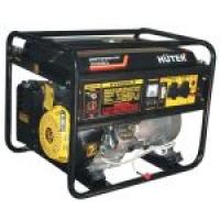 Бензиновый электрогенератор HUTER DY6500LX (5 кВт)