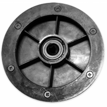 Диск фрикционный привода колёс (шкив) с подшипником KCM21