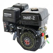 Двигатель бензиновый BRAIT 406 PE(20)(168F-2D,6,5 л.с,эл.запуском)