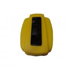 Крышка бензобака 160FB-190FB (пластмассовая желтая, прямоугольная)