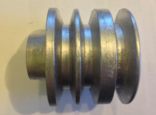 Шкив d19 мм.ведущий 3-х ручейковый(Каскад)(профиль Б) картинка 1
